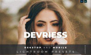 Devriess Desktop and Mobile Lightroom Preset