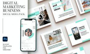 Digital Marketing Business Instagram N43M4Q4
