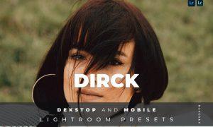 Dirck Desktop and Mobile Lightroom Preset