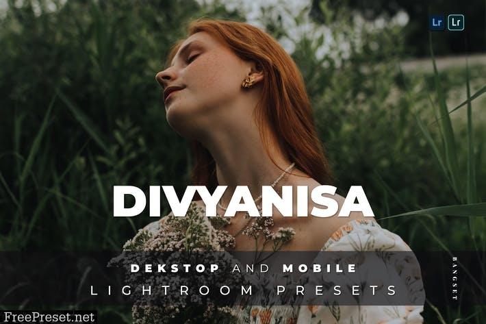 Divyanisa Desktop and Mobile Lightroom Preset