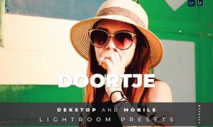 Doortje Desktop and Mobile Lightroom Preset