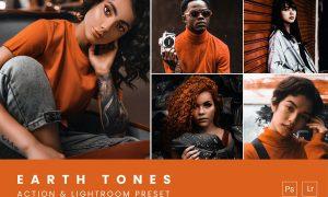 Earth Tones Action & Lightroom Preset