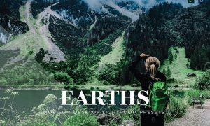 Earths Mobile and Desktop Lightroom Presets