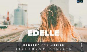 Edelle Desktop and Mobile Lightroom Preset