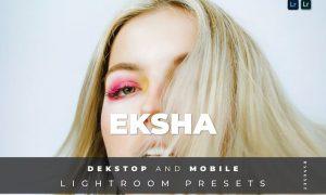 Eksha Desktop and Mobile Lightroom Preset