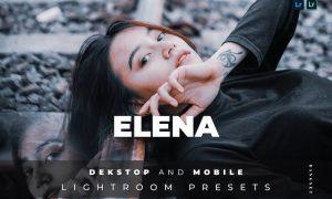 Elena Desktop and Mobile Lightroom Preset