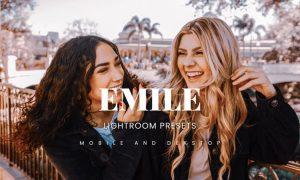 Emile Lightroom Presets Dekstop and Mobile