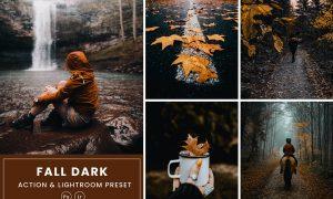Fall Dark Action & Lightrom Presets