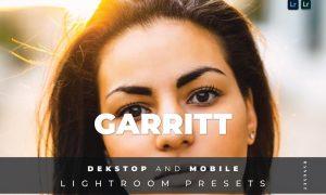 Garritt Desktop and Mobile Lightroom Preset