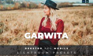 Garwita Desktop and Mobile Lightroom Preset