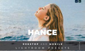 Hance Desktop and Mobile Lightroom Preset