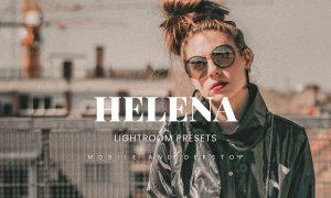 Helena Lightroom Presets Dekstop and Mobile