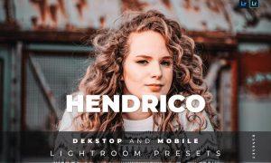 Hendrico Desktop and Mobile Lightroom Preset