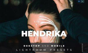 Hendrika Desktop and Mobile Lightroom Preset