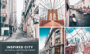 Inspired City Action & Lightrom Presets