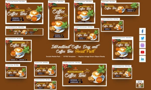 International Coffee Day and Coffee Time Social AXX9FE2