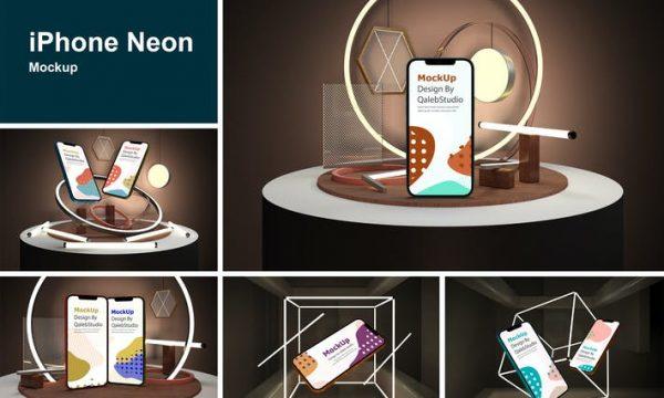 iPhone Neon 8D64KT3