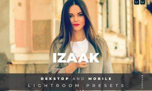 Izaak Desktop and Mobile Lightroom Preset