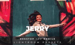 Jerry Desktop and Mobile Lightroom Preset