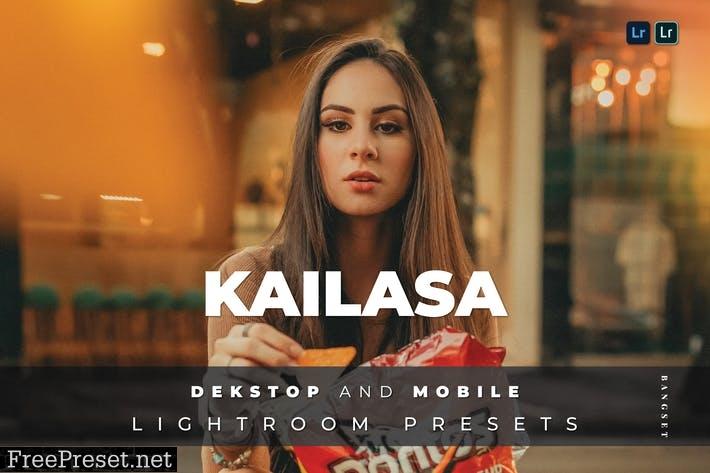 Kailasa Desktop and Mobile Lightroom Preset