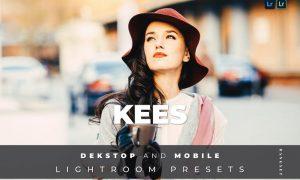 Kees Desktop and Mobile Lightroom Preset