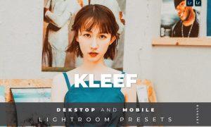 Kleef Desktop and Mobile Lightroom Preset