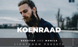 Koenraad Desktop and Mobile Lightroom Preset