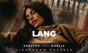Lang Desktop and Mobile Lightroom Preset