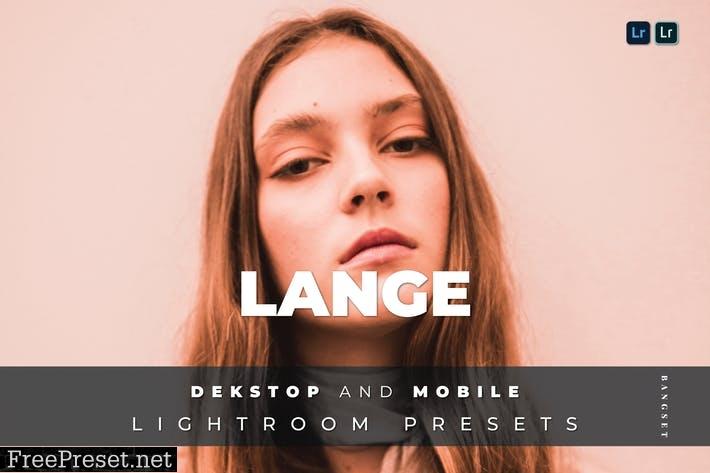 Lange Desktop and Mobile Lightroom Preset
