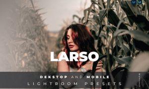 Larso Desktop and Mobile Lightroom Preset