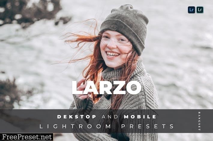 Larzo Desktop and Mobile Lightroom Preset