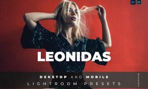 Leonidas Desktop and Mobile Lightroom Preset
