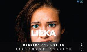 Lieka Desktop and Mobile Lightroom Preset