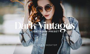 Lightroom Presets - Dark Vintage - IG
