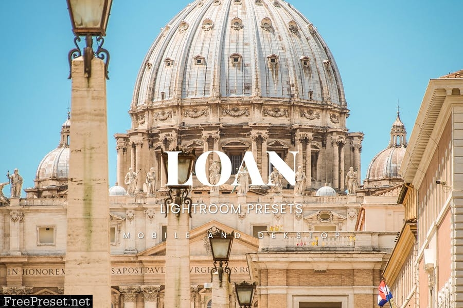 Loan Lightroom Presets Dekstop and Mobile