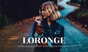Loronge Mobile and Desktop Lightroom Presets