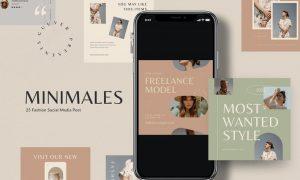 Menimales Fashion Instagram Post XK4N5SS