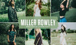 Miller Rowley Mobile & Desktop Lightroom Presets