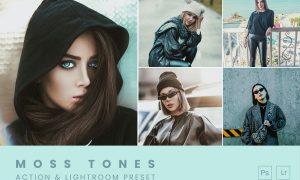 Moss Tones Action & Lightroom Preset