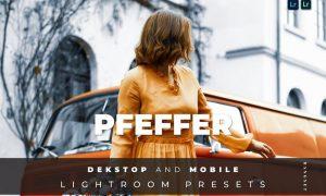 Pfeffer Desktop and Mobile Lightroom Preset