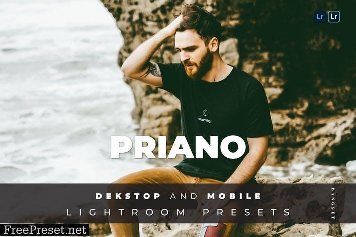 Priano Desktop and Mobile Lightroom Preset