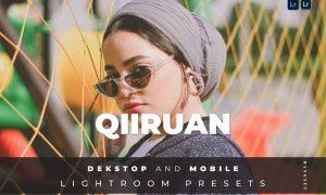 Qiiruan Desktop and Mobile Lightroom Preset