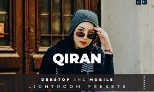 Qiran Desktop and Mobile Lightroom Preset