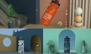 Realistic Sport Bottle Scene 5Y5Y797