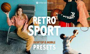 Retro Sport Lightroom Presets