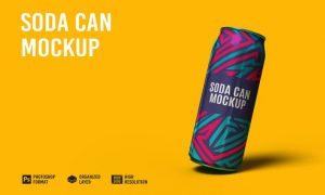 Soda Can Mockup RALJKVP