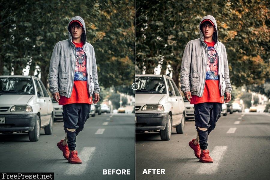 Street Dusty Action & Lightrom Presets