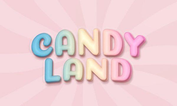 Sugar candy logo mockup QN9HZ3V