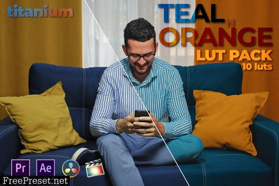 Titanium Teal n Orange LUT Pack (10 Luts)
