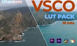 Titanium VSCO Video Luts